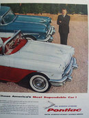 Pontiac Hottest And Most Dependable Car 1956 Ad