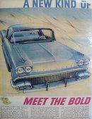 Pontiac Bonneville 1957 Ad.