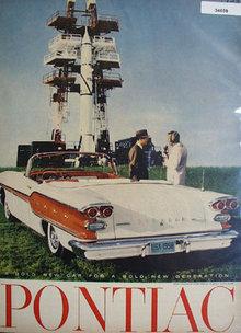 Pontiac Americas No. 1 Road Car 1958 Ad