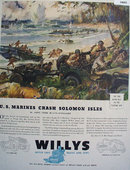 Willys Overland Jeep 1943 Ad