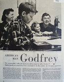 Arthur Godfrey With Son Mike Daughter Pat 1949 Article