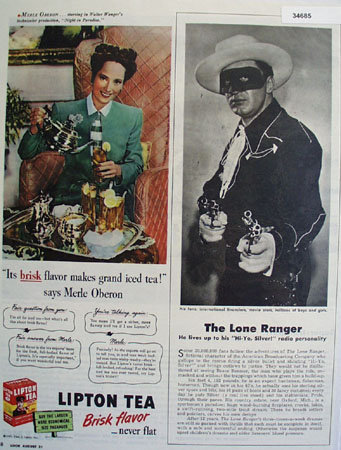 Brace Beemer The Lone Ranger 1945 Article