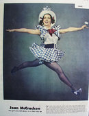 Joan McCracken Bloomer Girl 1944 Article