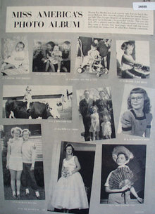 Miss America Sharon Kay Ritchie 1955 Article