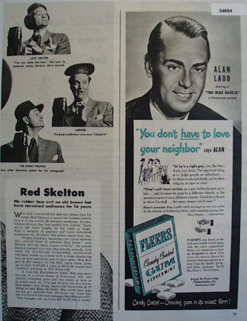 Red Skelton 1946 Article