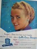 Lustre Crème Shampoo 1951 Ad