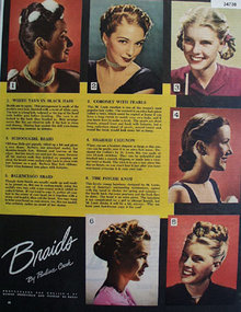 Braids by Pauline Crook 1945 Article