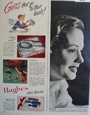 Hughes Hair brushes 1948 Ad