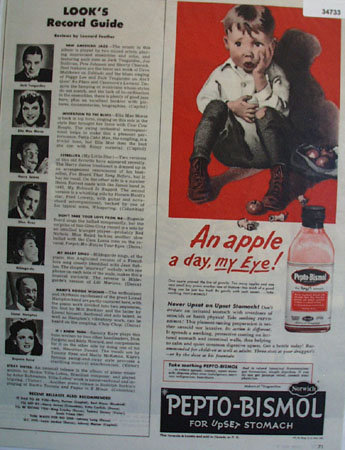 Pepto Bismol For Upset Stomach 1944 Ad