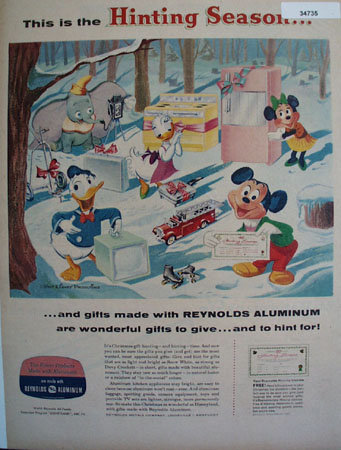 Reynolds Aluminum Products 1957 Ad