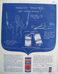 Eveready Flashlight Batteries 1929 Ad