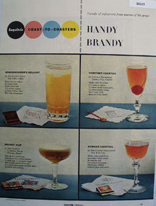 Handy Brandy Essence Of The Grape 1954 Article