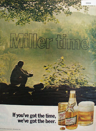 Miller High Life Beer 1972 Ad