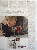 Martini And Rossi Vermouth 1965 Ad