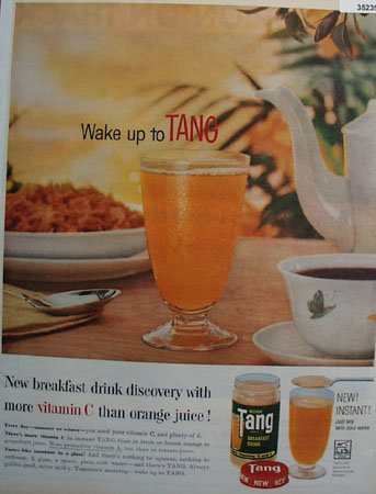 Tang Breakfast Drink 1959 Ad