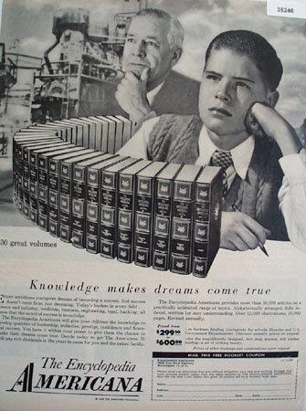 The Encyclopedia Americana 1958 Ad
