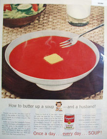 Campbells Tomato Soup 1956 Ad