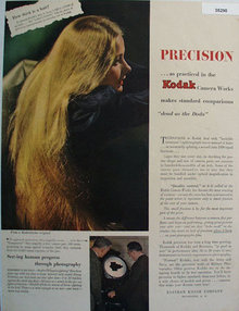 Eastman Kodak Co. 1945 Ad