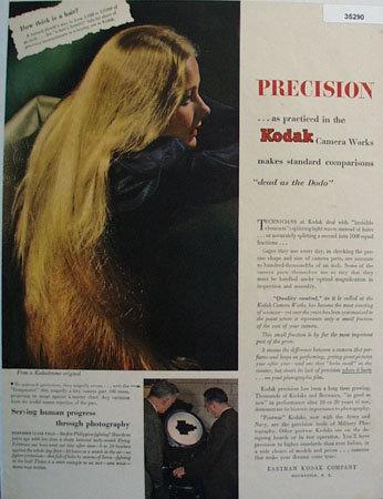 Eastman Kodak Co. 1945 Ad
