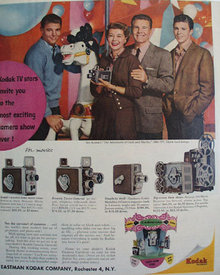 Eastman Kodak Co. The Nelsons 1958 Ad