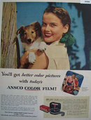 Ansco Color Film 1953 Ad