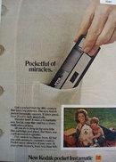 Kodak Pocket Instamatic Camera 1972 Ad