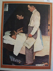 Norman Rockwell Freedom From Fear 1976 Picture