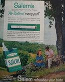 Salem Cigarette Springtime 1959 Ad
