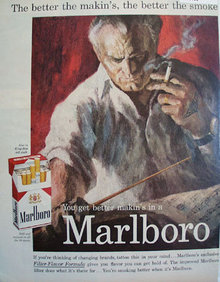 Marlboro Better Making Cigarette 1959 Ad