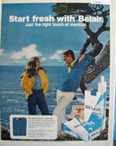 Belair filter Long Cigarettes 1972 Ad