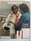 Viceroy Cigarettes Parnelli Jones 1972 Ad