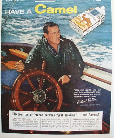 Camel Cigarette Richard Bertram 1959 Ad
