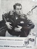 Philip Morris Cigarette 1956 Ad