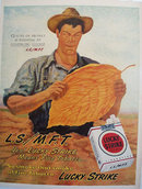 Lucky Strike L.S./ M.F.T. 1946 Ad