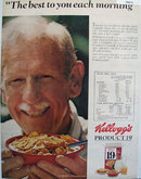 Kelloggs Product 19 Cereal 1972 Ad.
