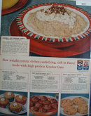 Quaker and Mothers Oats 1957 Ad