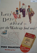 Poast Toasties Corn Flakes 1930 Ad