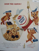 Post Sugar Crisp 1955 Ad
