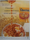 Cheerios Toasted Oats 1957 Ad