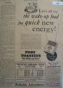 Post Toasties Corn Flakes 1930 Ad