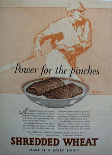 Shredded Wheat 1927 Ad