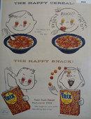 General Mills Trix Sugar Cereal 1957 Ad