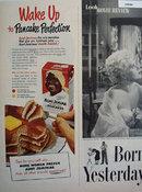 Aunt Jemima Pancakes 1951 Ad