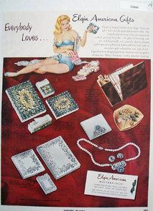 Elgin American Christmas Ad 1951