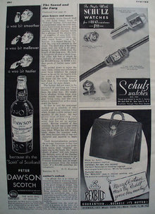 Schultz Watches For All Occasions Ad 1948