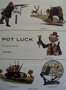 Eldon Dedini Pot Luck Cartoons 1953