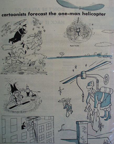Wanna Fly Cartoons 1951