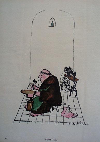 Shoe Repair Cartoon 1955