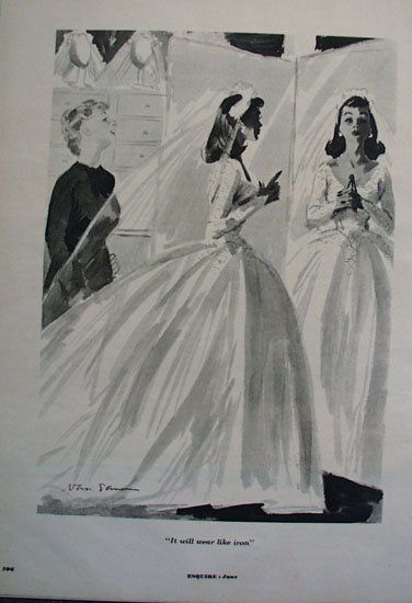 Bridal Cartoon 1953