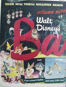 Walt Disney Bambi Ad 1948